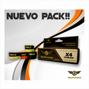 Accesorios - Dos Paredes - Pack 4 overgrip